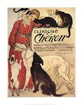Clinique The Poster Corp Cheron Poster Print by Theophile-Alexandre Steinlen