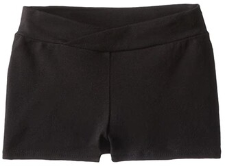 Capezio Classic Boyshorts (Toddler/Little Kids/Big Kids) (Black) Girl's Underwear