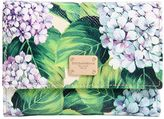Dolce & Gabbana Hydrangea Printed Leather Wallet