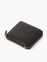 Comme Des Garcons Wallet Black Leather Luxury Wallet