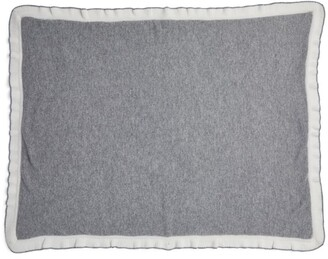 Trotters Frill Cashmere Blanket