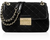 MICHAEL Michael Kors Sloan Large Velvet Chain Shoulder Bag
