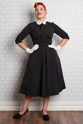 Miss Candyfloss Manon Neck-Tie Swing-Dress