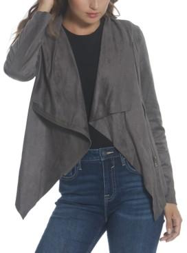 Vigoss Wing-Collar Zippered Jacket