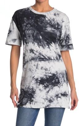 CODEXMODE Tie Dye Short Sleeve Tunic
