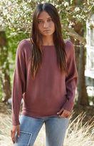 La Hearts Cocoon Pullover Sweater
