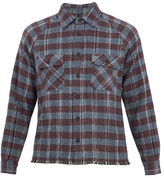 Missoni Point-collar Checked Cashmere Cardigan