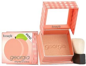 Benefit Cosmetics Mini Georgia Golden Peach Powder Blush