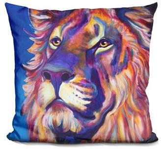 Cecil East Urban Home Lion Throw Pillow East Urban Home