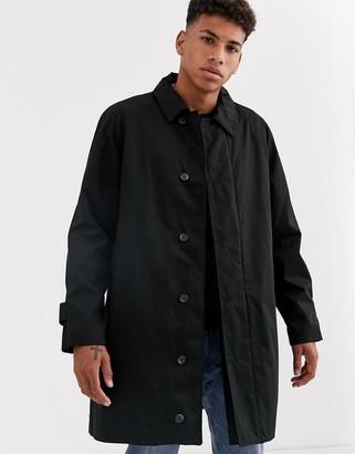 Barbour Mighill waterproof overcoat in black
