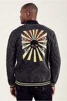 True Religion Embroidered Camo Mens Jacket