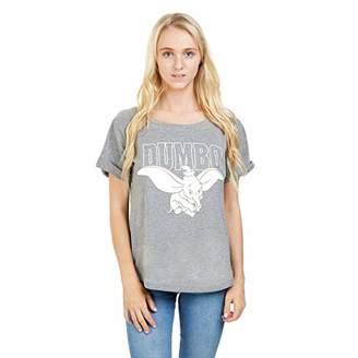 Disney Women's Dumbo Flying T-Shirt,10 (Size:Small)
