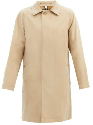 Burberry Camden Single-breasted Cotton-gabardine Car Coat - Beige