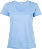Moncler scoop neck T-shirt - women - Cotton - XS