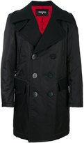 DSQUARED2 waterproof double-breasted coat