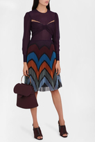 Mary Katrantzou Pleated Skirt Dress