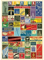 Cavallini & Co. Vintage New York City Matchbook Covers Decorative Paper