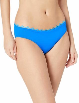 Anne Cole Women's Frank Classic Mid-Rise Retro Scoop Bikini Bottom Swimsuit