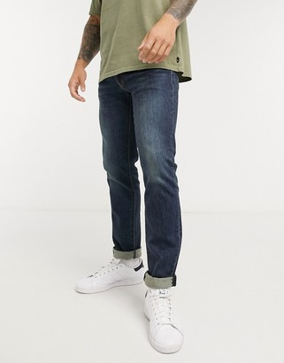 Levi's 511 slim fit jeans in durian super tint overt dark wash