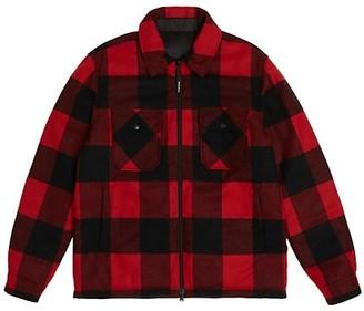 Woolrich Plaid Wool-Blend Reversible Shirt Jacket