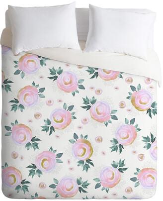 Deny Designs Iveta Abolina Rose Taffy Duvet Cover Set