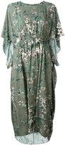Steffen Schraut floral print midi dress