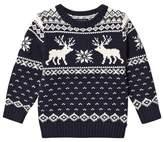 Ralph Lauren Navy Reindeer Sweater
