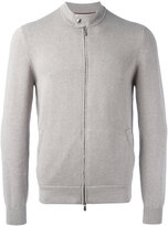 Brunello Cucinelli zip up bomber jacket - men - Cotton - 48