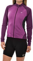 Pearl Izumi Symphony Cycling Jersey - UPF 50, Full Zip, Long Sleeve (For Women)