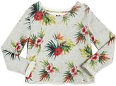 American Outfitters Floral Printed Cotton Sweatshirt