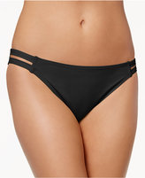 California Waves Strappy Hipster Bikini Bottoms