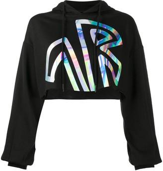 John Richmond Fowler holographic print sweatshirt
