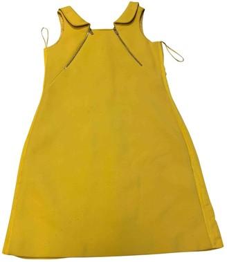 Michael Kors Yellow Wool Dress for Women