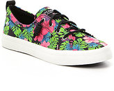 Sperry Crest Vibe Tropical Floral Sneakers