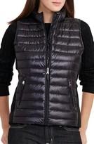 Lauren Ralph Lauren Women's Knit Panel Down Vest
