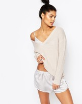 Micha Lounge Knitted V Neck Sweater