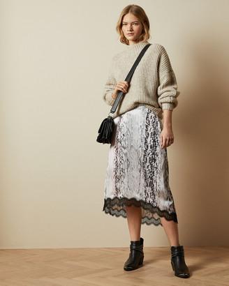 Ted Baker CIERRAA Printed midi skirt