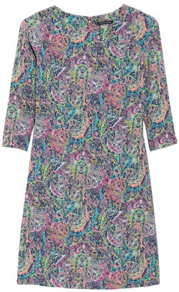 Tommy Hilfiger Paisley 3/4 Sleeve Dress