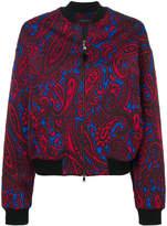 Etro paisley print bomber jacket