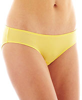 JCPenney Flirtitude® Ruched Microfiber Bikini Panties