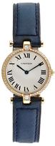 Cartier Vintage Vendome 18K Yellow Gold & 0.40 Total Ct. Diamond Watch, 25mm