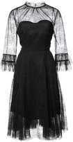 Carolina Herrera lace embroidered dress