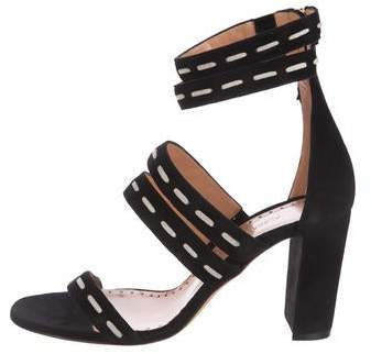 Alexa Wagner Betsy Suede Sandals w/ Tags