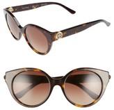Tory Burch Women's 52Mm Cat Eye Sunglasses - Tortoise/ Polar