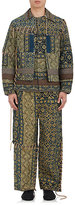 Craig Green Men's Laced Quilted Cotton-Wool Jacket