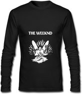 JKDRTW The Weeknd Starboy Tour 2017 Logo Long Sleeve T-Shirts For Men