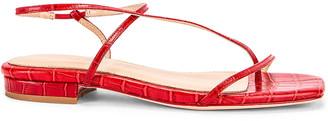 Studio Amelia 1.2 Sandal in Red Croc | FWRD