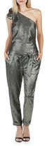 Paige Women's Rosie Hw X Maisie Metallic One-Shoulder Jumpsuit