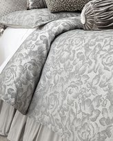 Sweet Dreams Queen Platinum Posey Duvet Cover