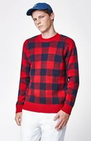 Obey Landon Plaid Sweater